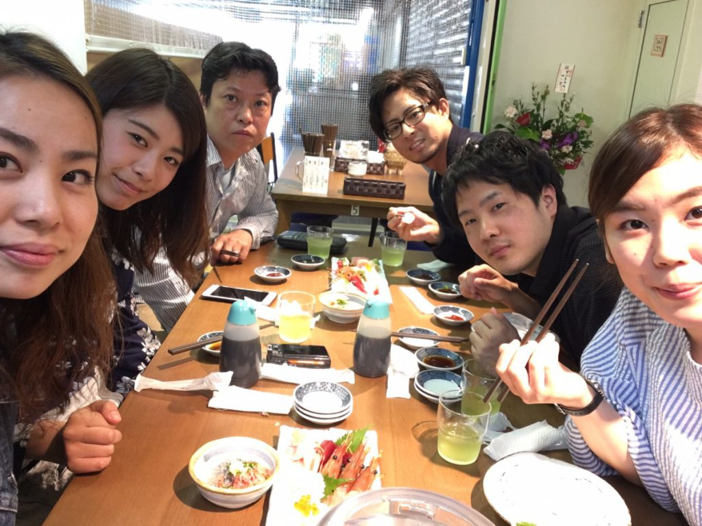 ビファインスタッフ 月曜休み 先生 静岡旅行