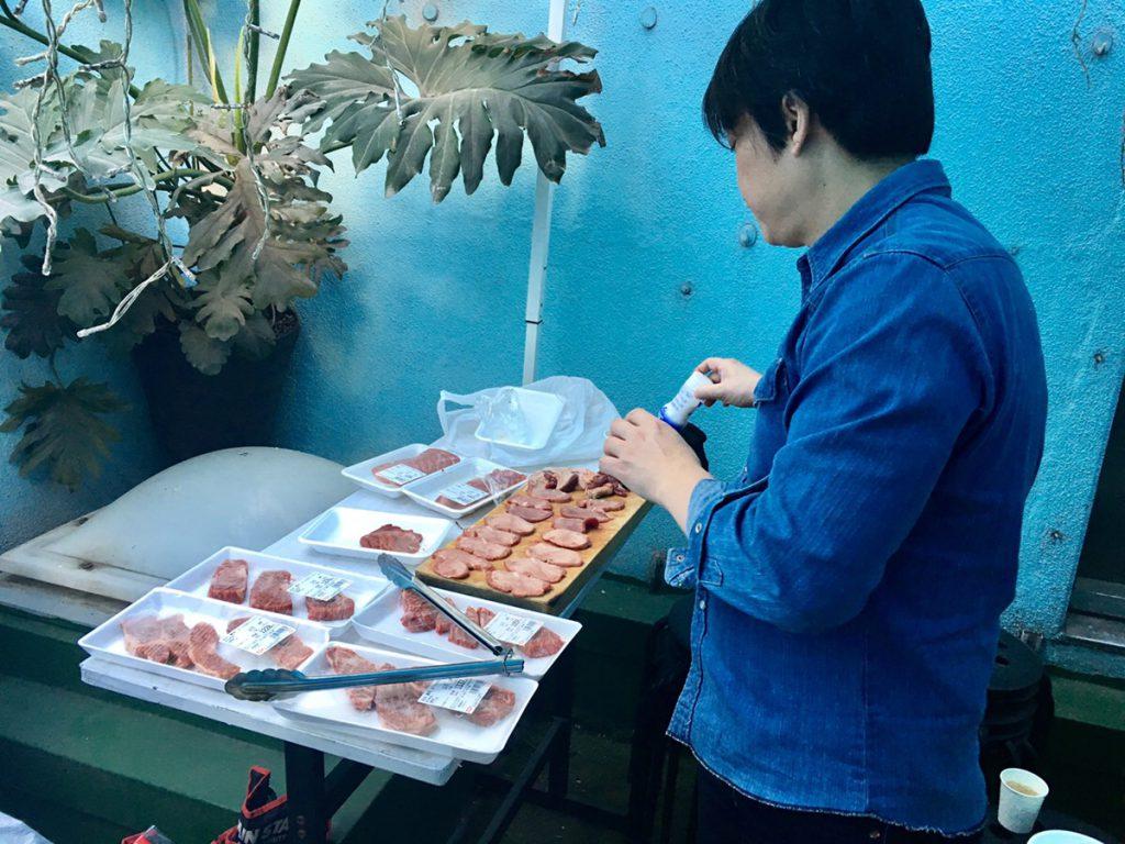 代表とお肉