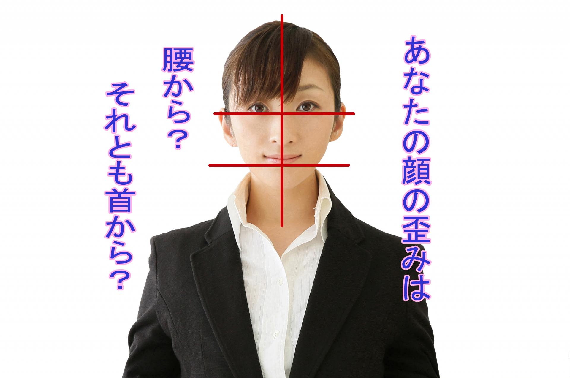 顔の歪みアイキャッチ