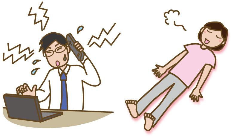 交感神経イメージ